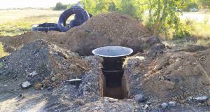 Новый водопровод в Любимовке
